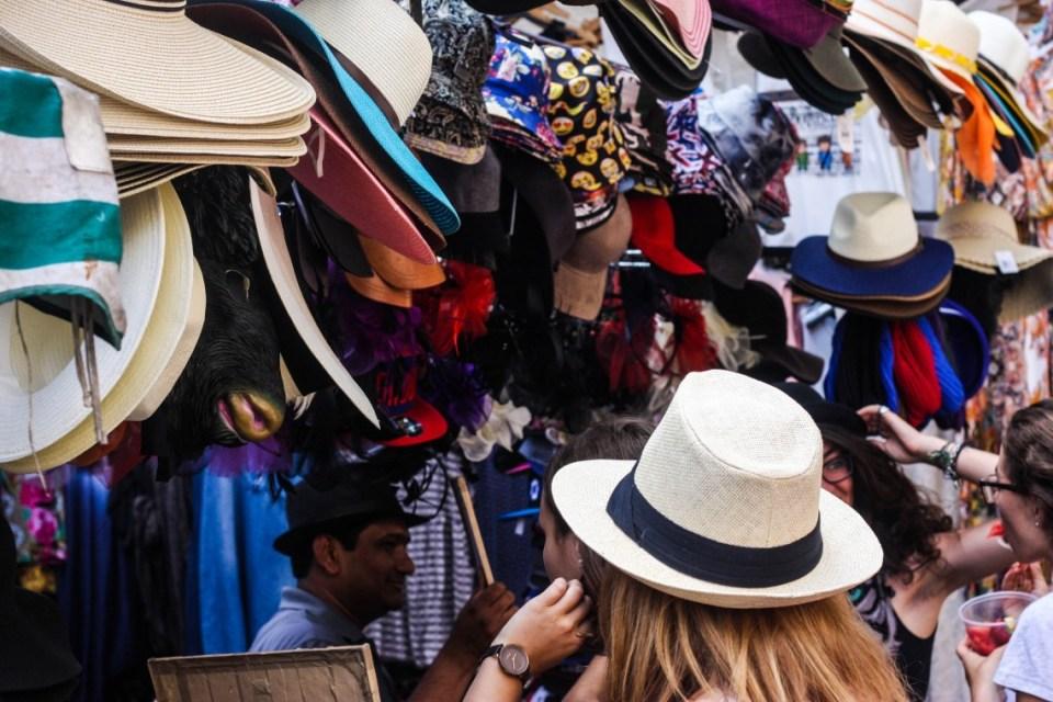 "The ""Fashion Market"" at Portobello Road Market"