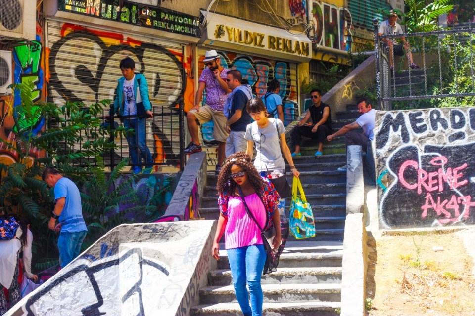 Street art in Istanbul