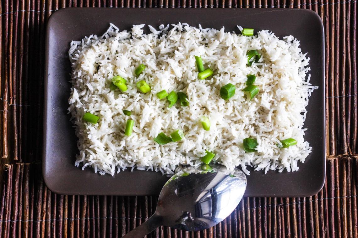 Wali wa Nazi (East Africa's popular coconut rice)