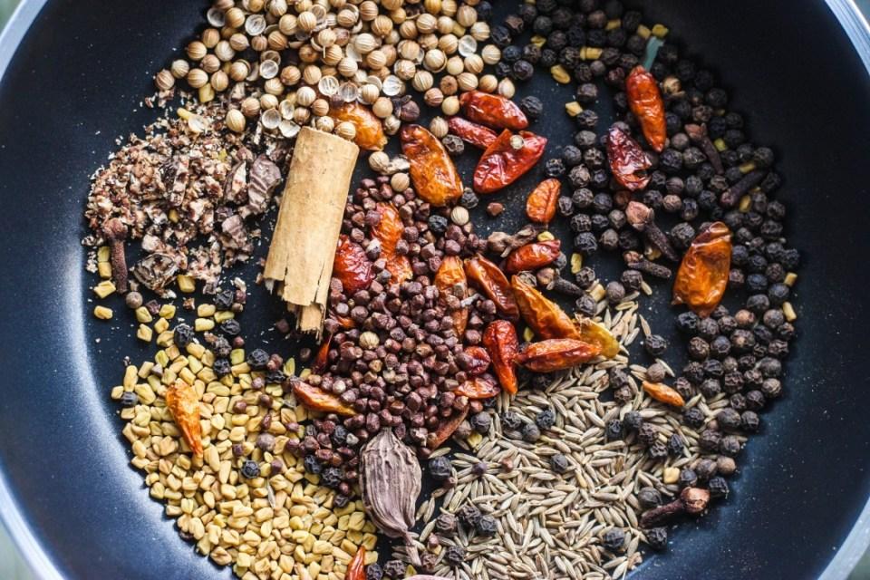 Homemade Berberé Spice Mix