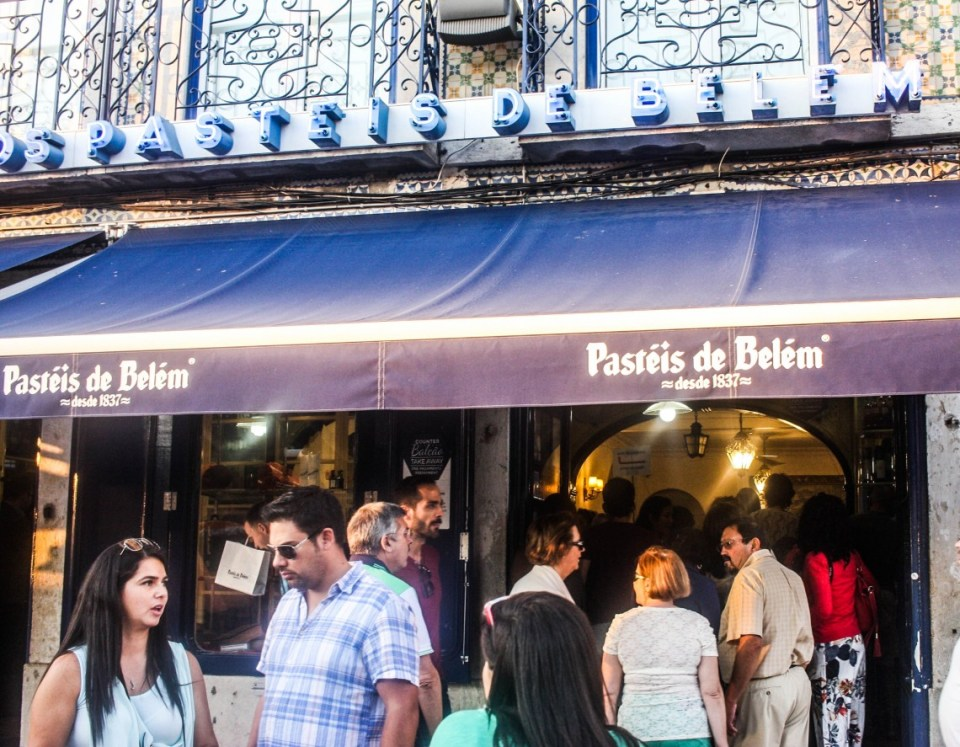 Visit Lisbon for the century-old Pastéis de Belém
