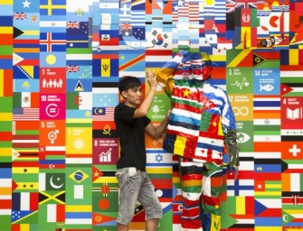 Finding the human form in United Nation's exhibition on Global food safety