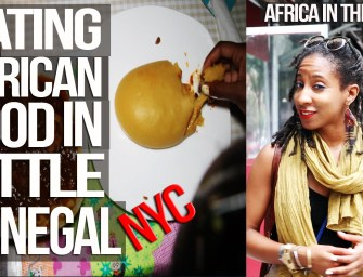 Eating African Food In Little Senegal, Harlem NYC