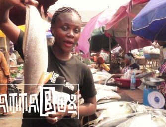 Watch a tour of one of the biggest Fish markets in Makoko, Lagos, Nigeria