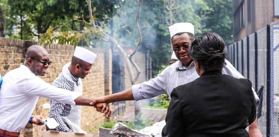 Photo Essay: When Men take control of the barbecue