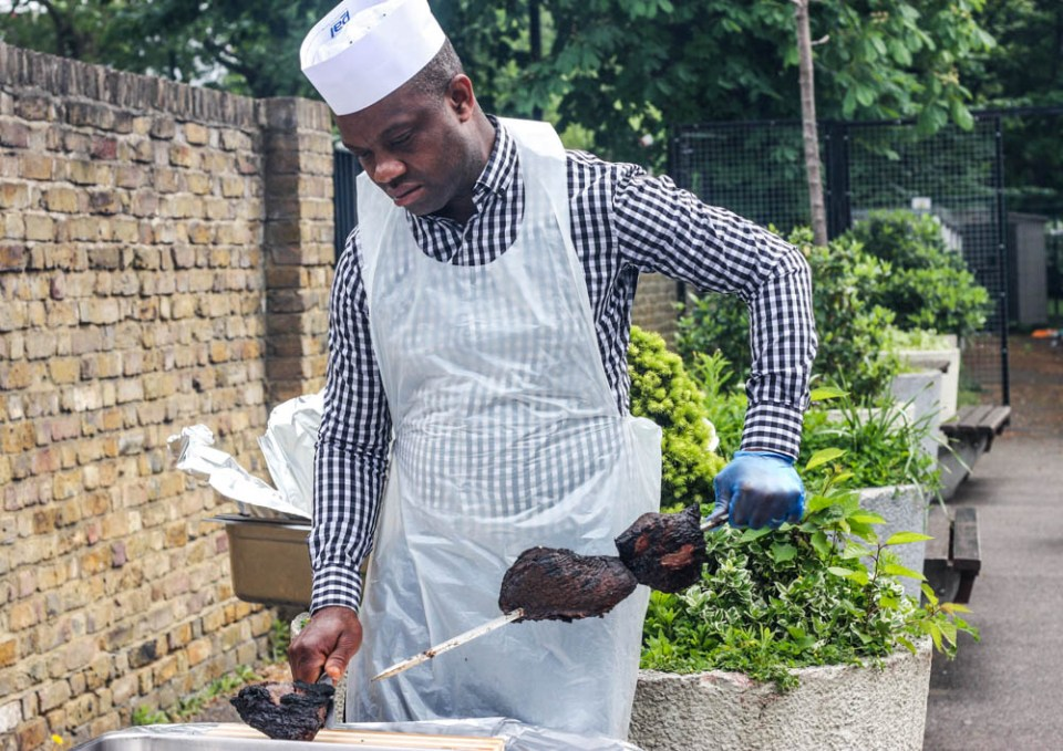 Photo Essay: When Men take control of the barbecue