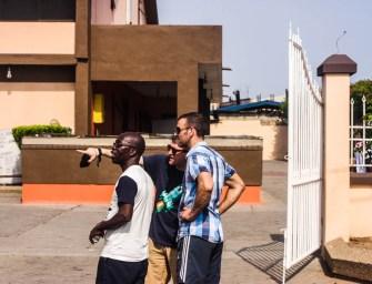 Going deep into James Town, Accra, Ghana