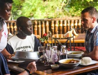 Experiencing Ghana's Buka restaurant