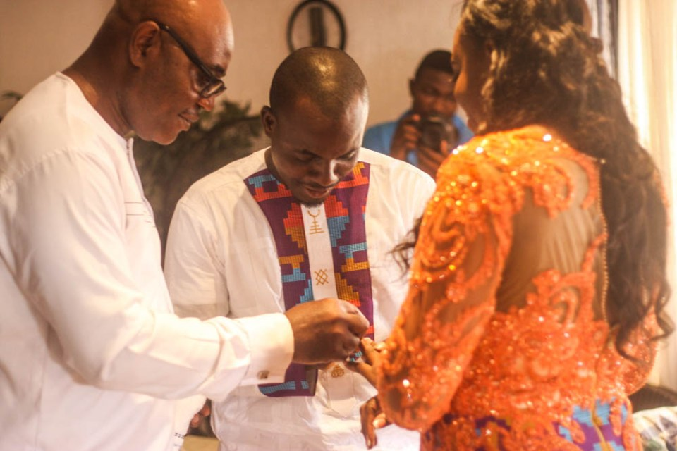 Experiencing Ghana's colourful traditional engagement ceremony with Abeiku and Esi