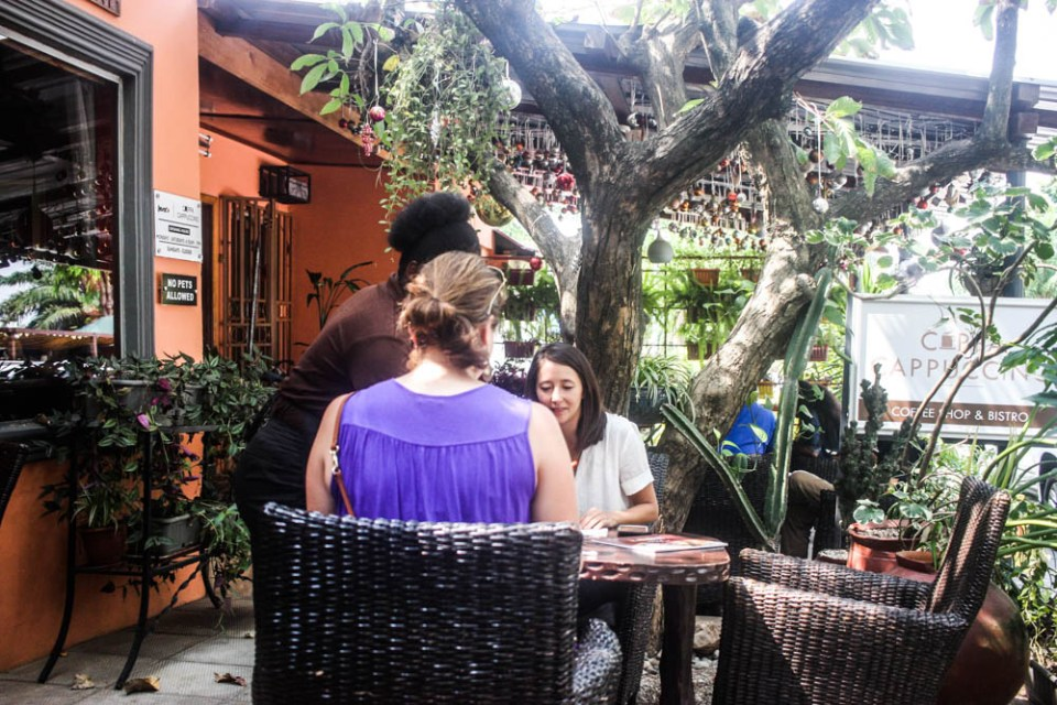 Josie's Cuppa Cappuccino: Cosy with arguably the best staff in Accra