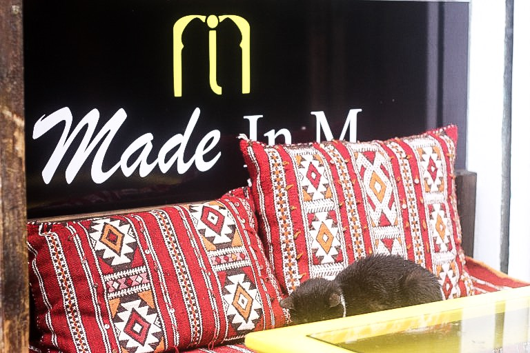 Made in M in Fez: Arguably the coolest modern cafe in the medina, Fez, Morocco