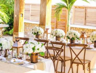 MyWeku Gardens: An intimate rustic decor set up.