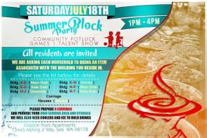 Urban Family Summer Block Party @ Creston Point Apartments | Seattle | Washington | United States