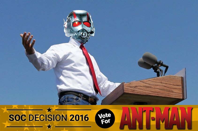 Skyway Outdoor Cinema: Decision 2016 - Ant-Man