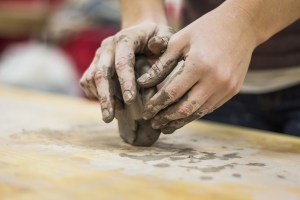 Kitchen Table Clay Sculpting @ Skyway Library