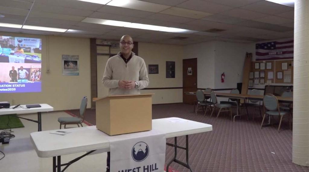 WHCA Board President Jeremy Williams