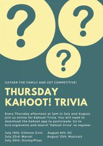 Online: Kahoot! Trivia @ Zoom Webinar | Seattle | Washington | United States