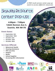 Skyway Resource Center Pop-up @ Seattle | Washington | United States