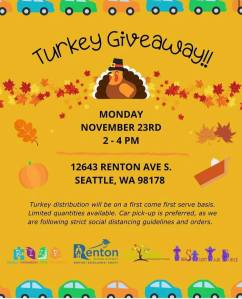 Turkey Giveaway! @ Seattle | Washington | United States