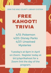 Free Online Kahoot! Trivia @ Online Zoom | Seattle | Washington | United States