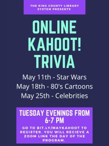 Free Online Kahoot! Trivia @ Online Zoom | Seattle | Washington | United States
