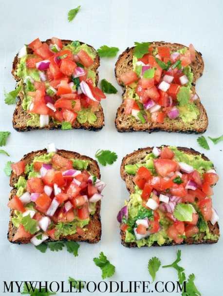Southwestern Avocado Toast - My Whole Food Life