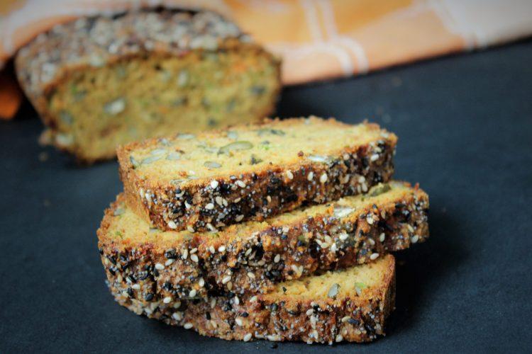 Кето зеленчуков хляб
