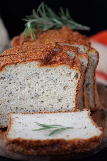 Кето карфиолен хляб с розмарин