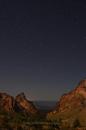 Stars Through the Window, Big Bend National Park, Texas