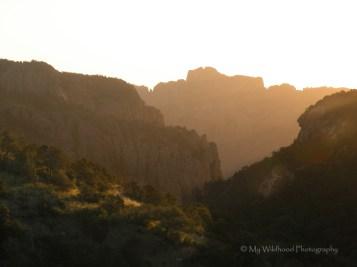 Sunrise Through the Canyon, Big Bend National Park, Texas