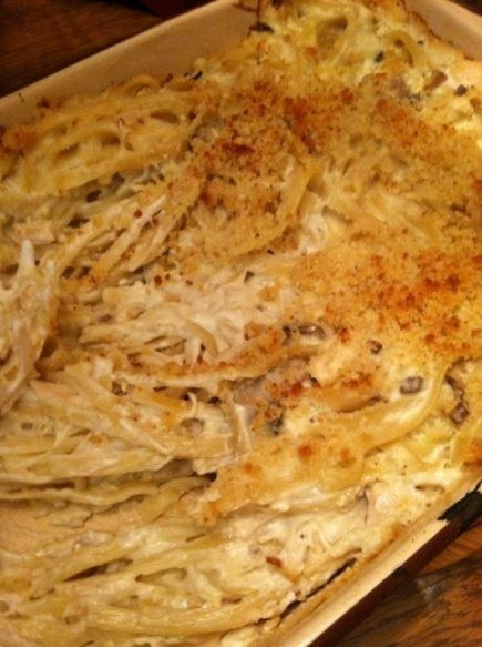 chicken fettucine