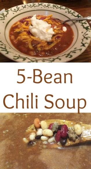 pinterest 5 bean chili soup