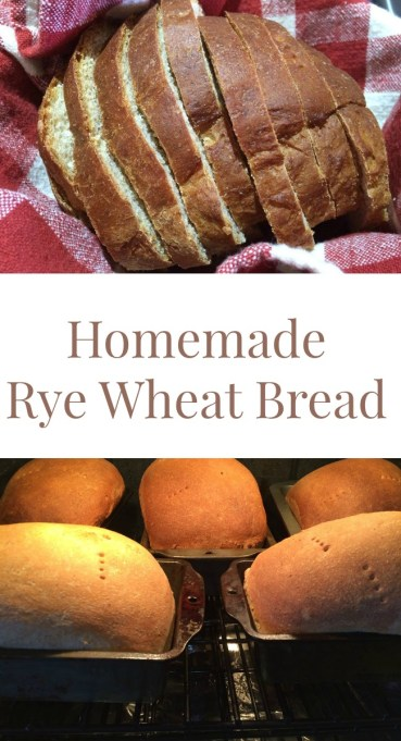 Pinterest Rye Wheat Bread