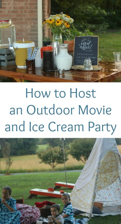 pinterest outdoor party
