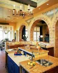 Tuscan Kitchen, Terracotta Flooring