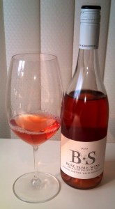 Bartier Scholefield Rose Table wine 2010