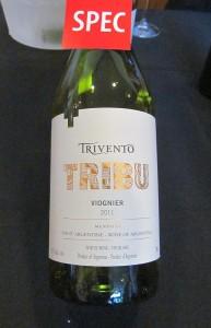 Trivento Tribu Viognier 2011