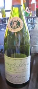 Maison Louis Latour Mersault Blagny 1er Cru 2009