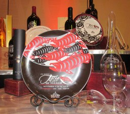 Taste of Tulalip plate and wines