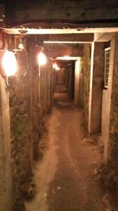 Underground trenches
