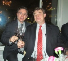 Alexandre de Bethmann from Chateau Olivier with Karl MyWinePal