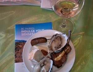 BC Paired Indulge Your Senses appetizers to pair with wine