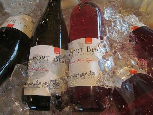 Fort Berens Estate Winery Chardonnay and Pinot Noir Rose