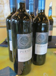 Perseus Invictus 2010 and Merlot 2011