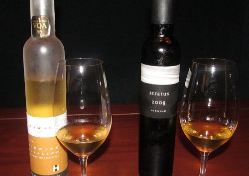 Tawse and stratus icewines