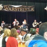 German band playing at Oktoberfest