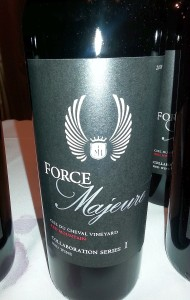 Force Majeure Syrah Collaboration Series I 2010