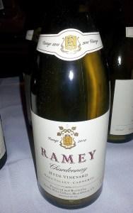 Ramey Chardonnay Hyde Vineyard 2010