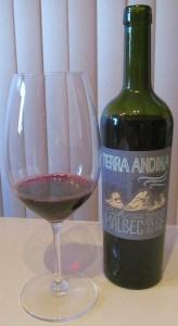 Terra Andina Malbec 2012