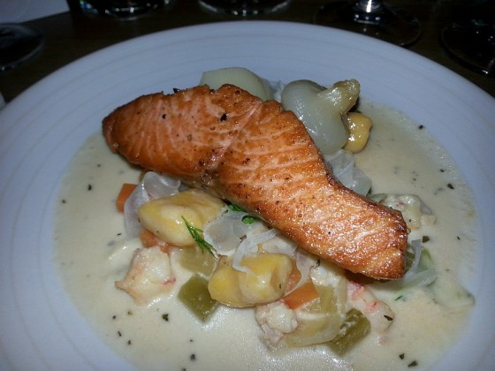 Pacific Provider spring salmon chowder